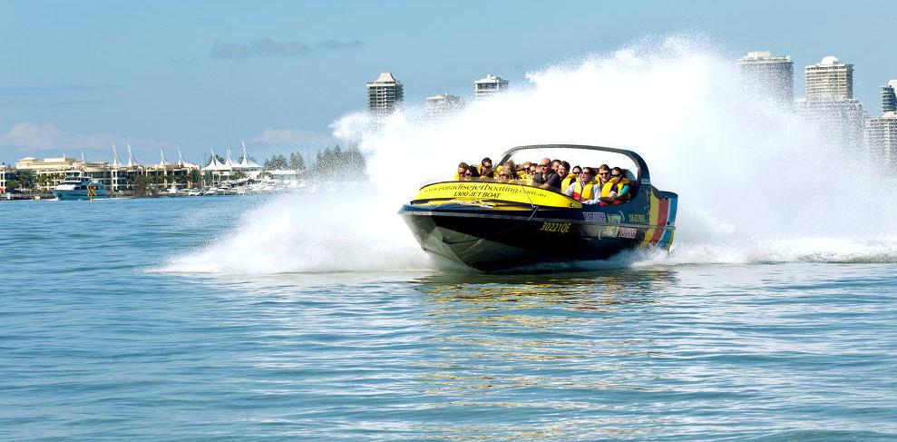 Jet Boating Sydney Harbour